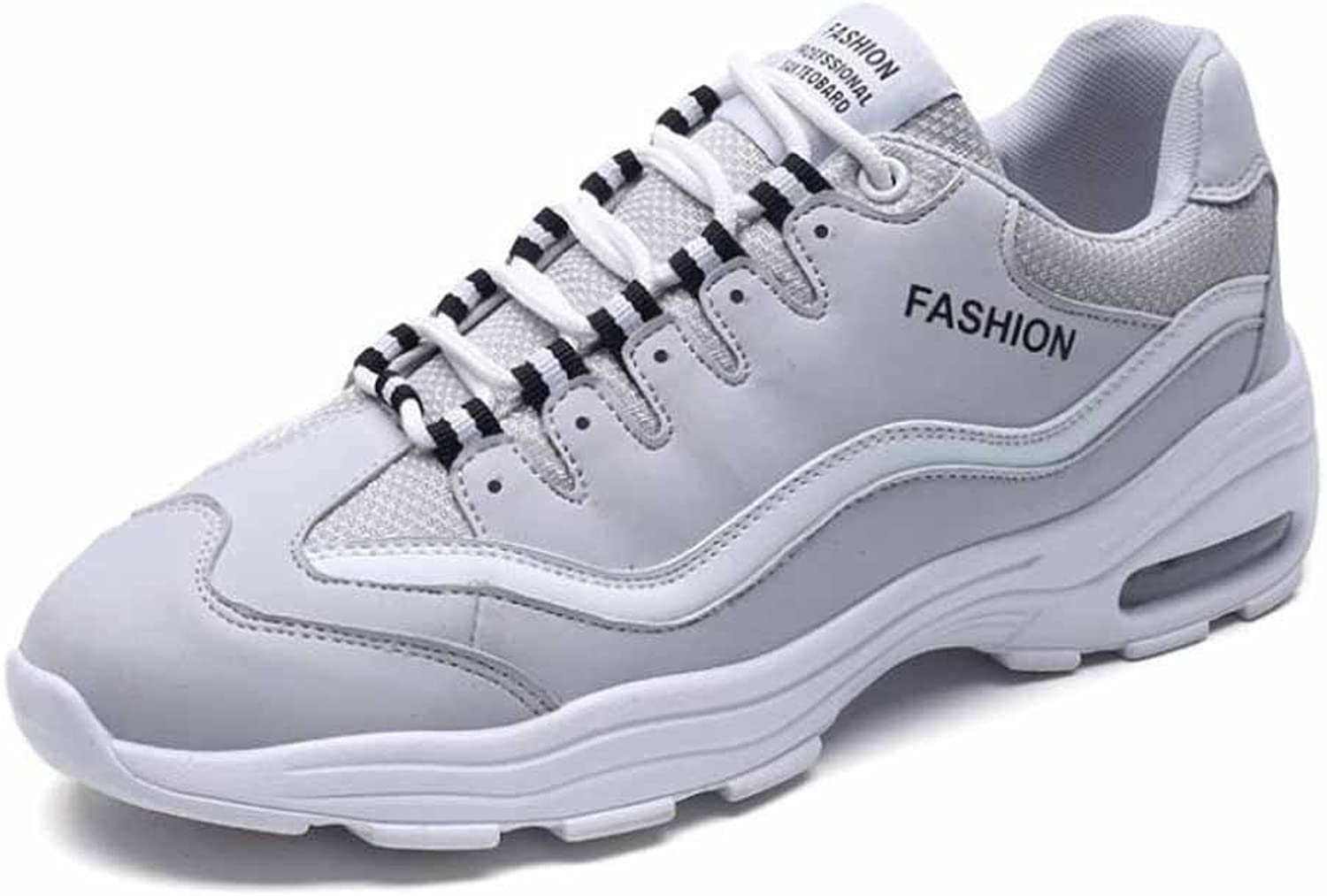 GLSHI Men Breathable Sneakers Autumn Winter New PU Air - Cushion Casual Running shoes