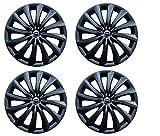 Hotwheelz Sporty 14-inch Wheel Cover (Set of 4, Black)