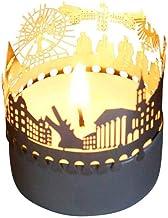 13gramm Karlsruhe-Skyline Windlicht Schattenspiel Souvenir,