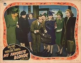 My Favorite Blonde 1942 U.S. Scene Card