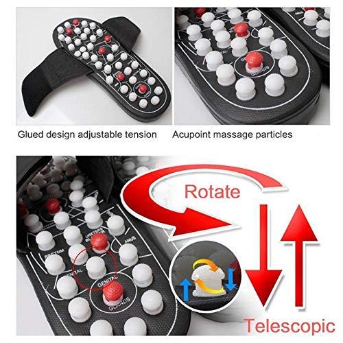 Xiaolizi Unisex Massage Slippers Sandaal Voor Mannen Vrouwen Gezondheid Slippers Voet Massage pedicure Health schoenen voetverzorging Verstelbare Slippers