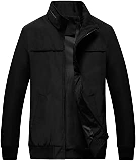 Men's Sports Jacket Casual Coat Two-Sided Wear Jacket Printing Patchwork Outwear Autumn Zipper Coat Stand Collar