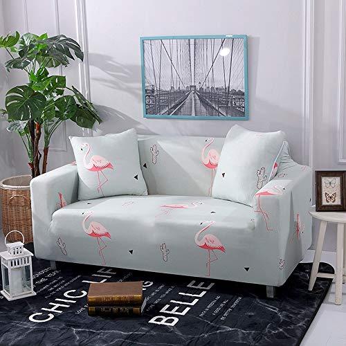 Housses de canapé élastiques pour Salon Housse de canapé Tout Compris Housse de Protection de Meubles Extensible Housses fauteuils Housses de canapé A17 3 Places