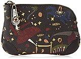piero guidi Cosmetic Bag, Pochette da Giorno Donna, Nero (Nero), 13x5x2 cm (W x H x L)