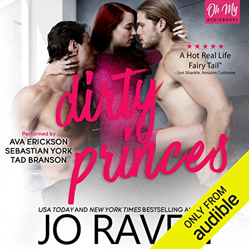 Dirty Princes audiobook cover art