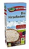 Copos de mijo ecológicos de Austria sin gluten 900g Bio biológicos, sin OMG, mijo de Austria, especialmente limpios y sin datura 6x150g