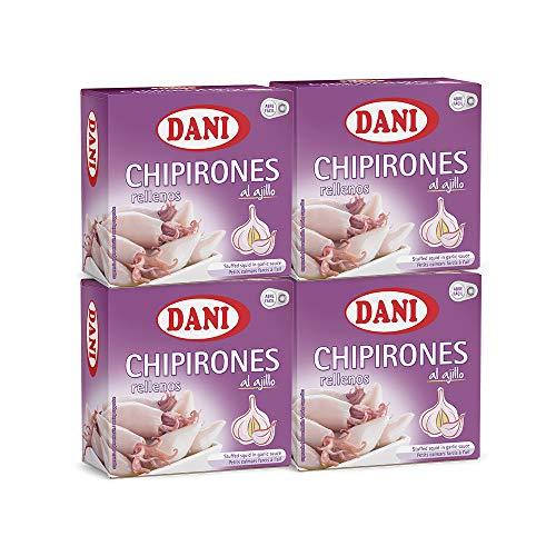 Dani - Chipirones rellenos en ajillo Pack 4 x 148 gr.
