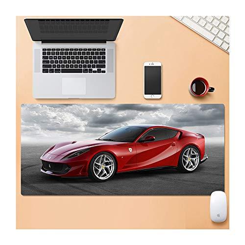 1STSPT Mousepad Gaming Mouse Pad Gamer Zerbino di Gioco di Alta qualità Scrivania del Computer Tastiera Grande Gioco Padmouse zerbino Auto-W