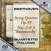 Beethoven: String Quartets Op. 59 Nos. 2 & 3 Rasumovsky by Beethoven (2009-06-30)