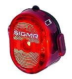 Sigma Nugget II Flash Faro Delantero, Deportes y Aire Libre, Rojo, Talla Única