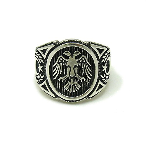 Sterling silber Herren Ring 925 Adler Empress Größe 52-74