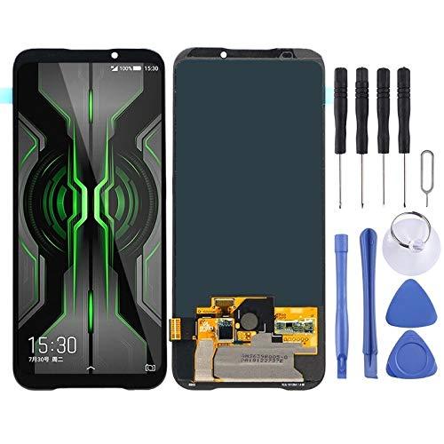 DOMINIC Remplacer l'écran Écran LCD -AMOLED Matériel et Digitizer Pleine Assemblée for Xiaomi Black Shark 2 Pro/Black Shark 2 Protecteur d'écran (Color : Black)