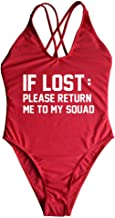 if lost return to my squad bathing suit