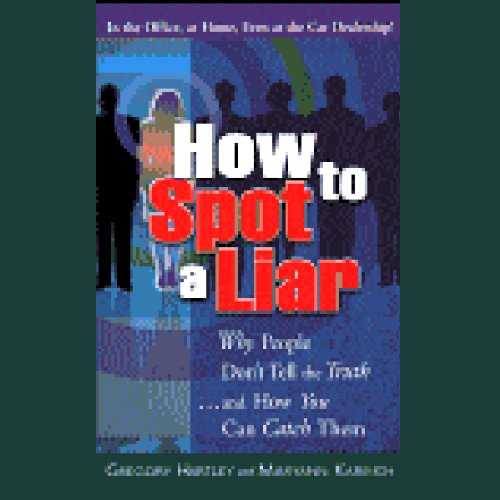 How to Spot a Liar audiobook cover art