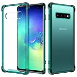 MoKo Compatible with Galaxy S10 Plus Case, Crystal Clear