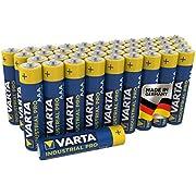 VARTA Industrial Pro AAA Micro Alkaline Batteries LR6 - 40-pack, Made in Germany