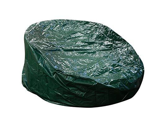 DEGAMO Schutzhülle für Liegeinsel bis 190cm Durchmesser, PE dunkelgrün