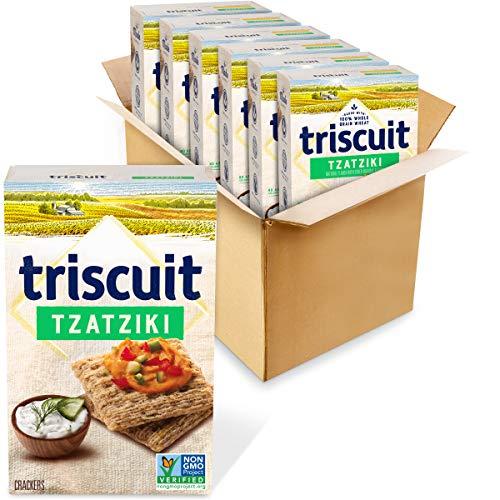 Triscuit Crackers, Tzatziki Flavor, 6 Boxes (8.5 Oz), 6Count
