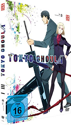 Tokyo Ghoul: Root A - Staffel 2 - Vol.3 - [DVD]