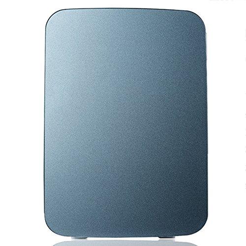 LVZAIXI Mini voiture réfrigérateur Refroidisseur & WarmerRefrigerator chauffage alimentaire électrique portable glacière voyage boîte aucun compresseur pour Camping ( Couleur : Gris )