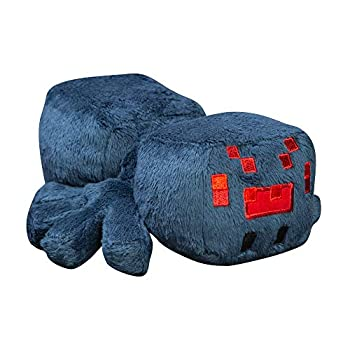 JINX Minecraft Happy Explorer Cave Spider Plush Stuffed Toy Blue 7  Long
