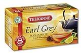 Teekanne Earl Grey Schwarztee 20 Beutel, 4er Pack (4 x 35 g Packung)