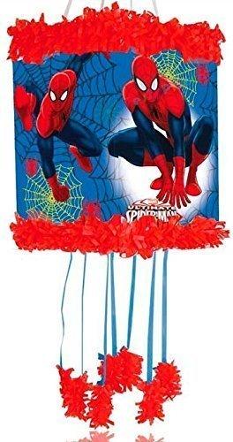 Spiderman Niños Pinata Juego De Partido