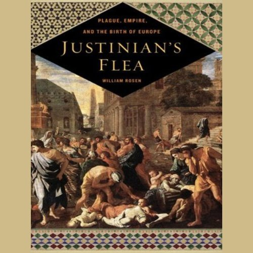Justinian's Flea audiobook cover art