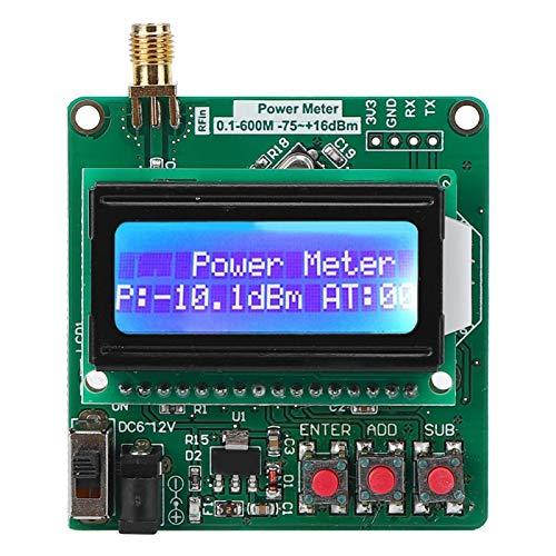 Medidor de potencia digital Módulo de detección de RF LCD Luz de fondo Medidor de potencia Herramientas de prueba de inspección ultrapequeñas para detección de señales de RF para motores