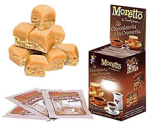 Cioccolata calda in tazza - MORETTO - gusto CIOCCOLATO e MOU- 1 scatola con 12 bustine