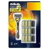 Gillette Fusion ProShield - Maquinilla para hombre, 9 recambios