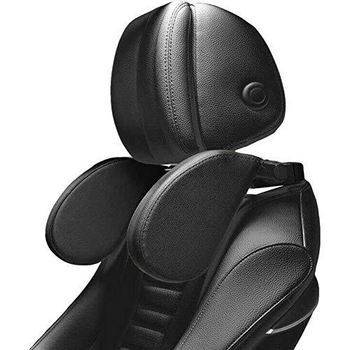 Cozywind Poggiatesta Auto,Cuscino Per Il Collo Dell'auto Poggiatesta Laterale In Pelle Regolabile Adatto Per Il Supporto Della Testa Di Adulti E...