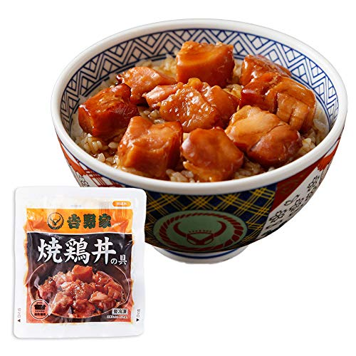 吉野家 [ 新・焼鶏丼の具 / 120g×3袋セット ] 焼き鳥 冷凍 どんぶり (湯せん専用)