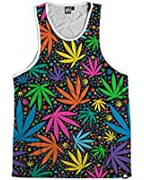 INTO THE AM Neon Trees Men's Sleeveless Tank Top Shirt (Medium)