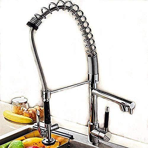 Wasserhahn alle Kupfer Küche Waschbecken Spüle heißes und kaltes Wasser Wasserhahn Geschirrspüler Feder Spüle Hochdruck Feder Wasserhahn