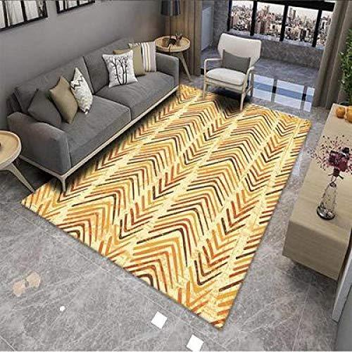 RFWCAK Nordic Marble Carpet for Living Room Area Rugs Anti-Slip badroom Large Rug Coffee Table Mat Bedroom Yoga Pad Home Decor-GF25_40X60CM