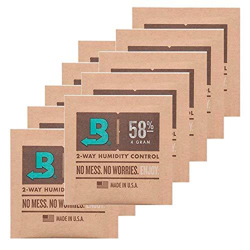 Boveda 10 x Humidipak 58% 2-Way Humidifer 4g inkl. J.Hülle