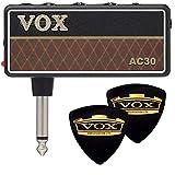 【限定VOXピック2枚付】VOX ヴォックス amPlug2 AC30 AP2-AC AC30トップ・ブースト・サウンド アンプラグ ヘッドホンギターアンプ