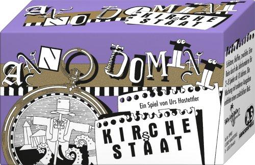 ABACUSSPIELE 09981 - Anno Domini - Kirche und Staat, Quizspiel, Schätzspiel, Kartenspiel
