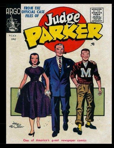 Judge Parker #2: Golden Age Newspaper Comic 1956