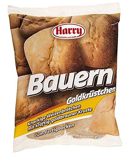 Harry Brot Bauern Goldkrüstchen 6 Brötchen = 480 g Knackige Weizenbrötchen mit kräftig-goldbrauner Kruste zum Fertigbacken