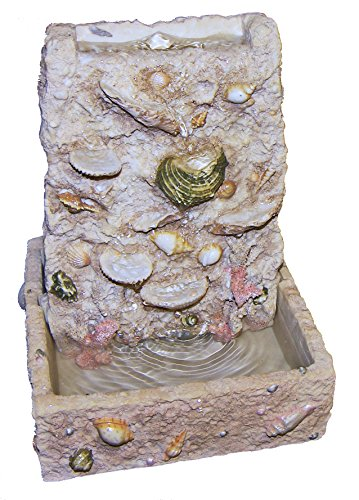 Ocean Sea Shell Indoor Table-top Fountain! Zen Relaxation