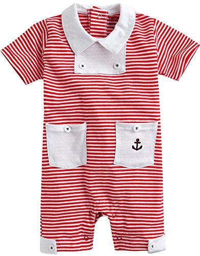 Vaenait baby - Body - Bébé (garçon) 0 à 24 mois - Rouge - Large