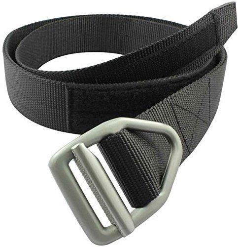 Bison Designs Last Chance Hvy Duty Belt – Gunmetal Buckle