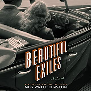 Beautiful Exiles audiobook cover art