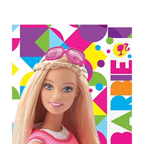 Barbie Sparkle COORDINADO DE UN Solo Uso 20 TOVAGLIOLI 32.7X32.7 CM