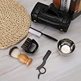 Beard Care Set 6Pcs Práctico juego de herramientas para barba para uso doméstico para salón(Six-piece suit)