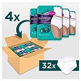 Always Discreet Inkontinenz-Höschen Plus Spar-Paket bei Blasenschwäche, Größe L, 32 Höschen (4 Packungen x 8 Stück) - 2