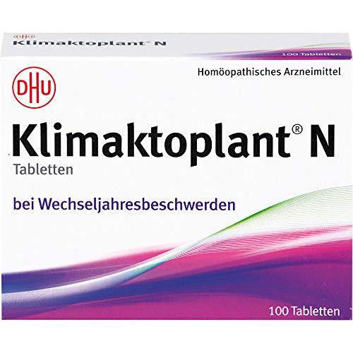 Klimaktoplant N Tabletten bei Wechseljahresbeschwerden, 100 St. Tabletten
