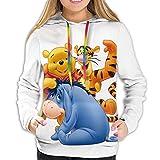 Hdadwy Winnie The Pooh Fashion Casual Sweatshirt Women's Hoodie Comfortable Personalized Hoodie